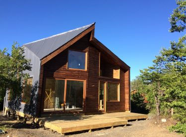 Casa Las Trancas, visita de obra 21.12.16